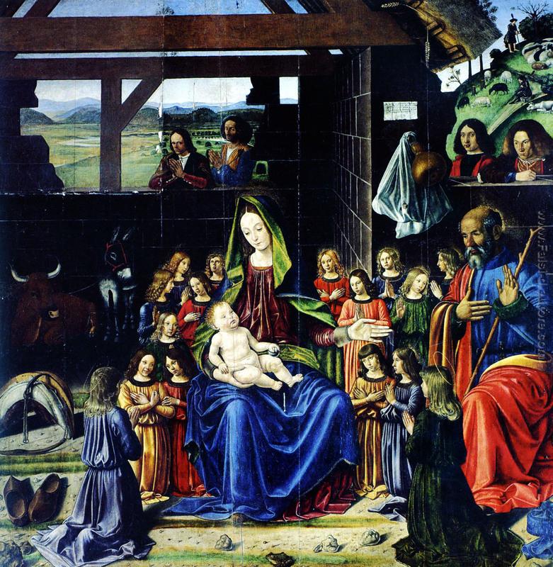 Risultati immagini per Andrea mantegna natività