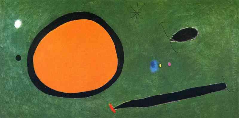 Volo dell'uccello in chiaro di luna di Joan Miro in vendita