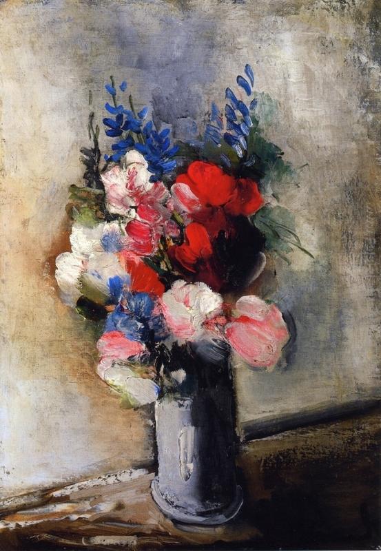 Mazzo Di Fiori Van Gogh.Mazzo Di Fiori In Un Vaso Di Maurice De Vlaminck In Vendita