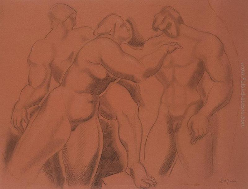 Modelli di figure nude